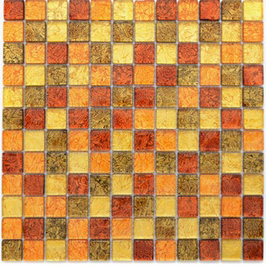 Foil Mosaik mix gold orange braun 4mm h10741 oder 8mm h10743 (und oder) gold 4mm h10747 oder 8mm h10750