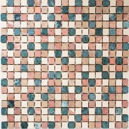 Hainan Mosaik mix creme beige rot grün h10452