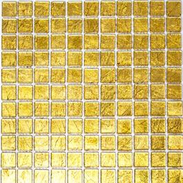 Foil Mosaik gold 4mm h10747 oder 8mm h10750