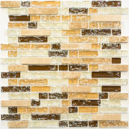 Ice Cube Mosaik mix hellbeige h10978