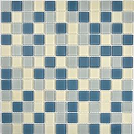 Sweden Mosaik mix weiß mit silber h10716