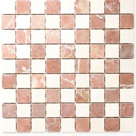 Hainan Mosaik mix rot beige h10469