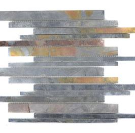 Subway Mosaik mix rost h10427 (und oder) schwarz h10428