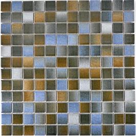 Style Mosaik mix blau braun h10031