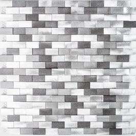 Modern Mosaik mix silber mit schwarz h10336 (und oder) mix silber mit kupfer h10337