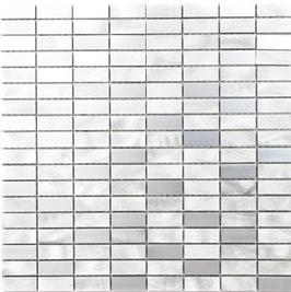 Modern Mosaik silber h10346