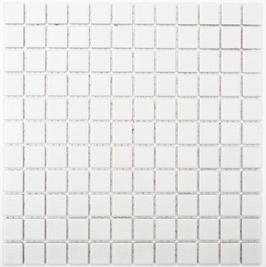 Antislip Mosaik weiß h10186 (für Duschböden geeignet)