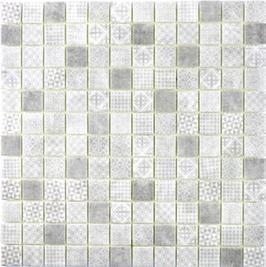 Patch Mosaik grau h10649