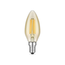 LED E14 - Candle gold 4 W