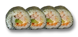46 Futo Masago Shrimps Roll