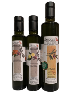BIOLEA Olivenöl-Set Kreta-Kolymbari