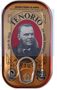 Tenorio Thunfischfilet in BIO Olivenöl aus Portugal 120g