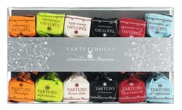Tartufi dolci misti, 6 Sorten  Antica Torroneria Piemontese, Italien Schokoladentrüffel gemischt
