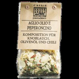 Aglio, olio e peperoncino 100g, Italien