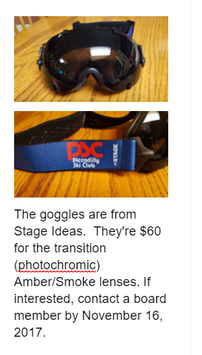 PSC GOGGLES