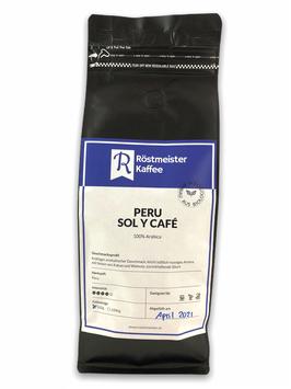 PERU Sol y Café aus biologischer Landwirtschaft