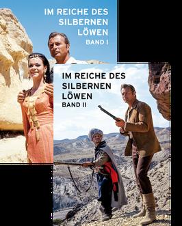 """Karl May """"Im Reiche des silbernen Löwen"""" · Band I + II Sammelalben"""