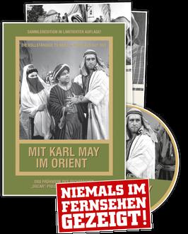 """Karl May DVD """"Mit Karl May im Orient"""" · limitierte Auflage"""