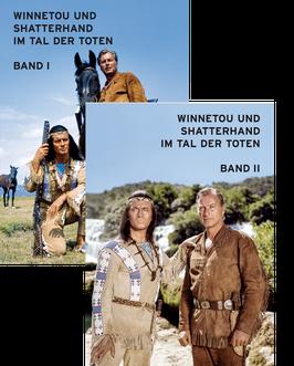"""Karl May """"Winnetou und Shatterhand im Tal der Toten"""" 2. Auflage · Band I + II Sammelalben"""