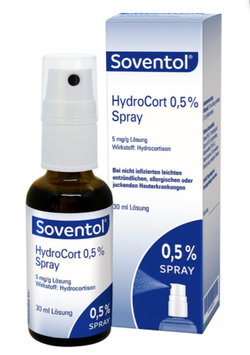 Soventol ® HydroCort 0,5% Spray