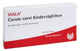 WALA ® Carum carvi Kinderzäpfchen