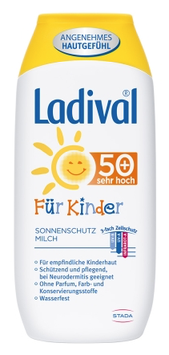 Ladival ® Sonnenmilch Kinder LSF 50 +