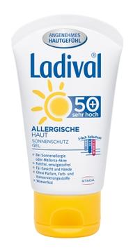 Ladival ® Allergische Haut LSF50 + Gesicht & Hände