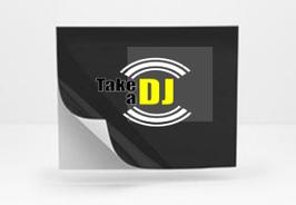 DJ Promo - Aufkleber