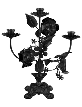 CANDLE HOLDER FLOWERS