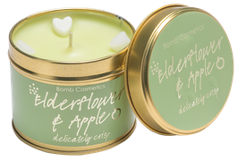 ELDERFOWER & APPLE CANDLE