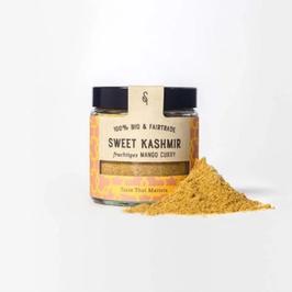 Sweet Kashmir Bio Fruchtiges Mango Curry, 55 g im Glas