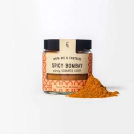Spicy Bombay Bio Würziges, scharfes Curry, 50 g im Glas
