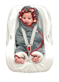 Wrapper Motion Fleece Baby light Grey melange - mitwachsende Einschlagdecke