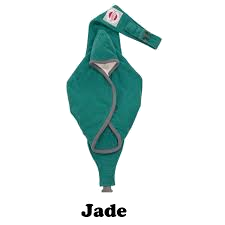 Bauchtrage Shelter fleece jade