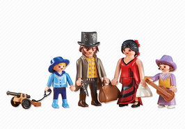 Playmobil BAG 6323 FAMILIA DEL OESTE