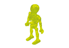 Play.FIG03.B1267.3363 Figura Esqueleto Humano (AMARILLO)