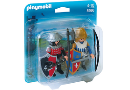PLAY.5166 DUO PACK GUERREROS MEDIEVAL