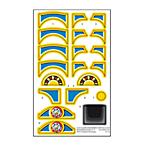 Play.TP00.0082.2193 Pegatinas para tren y locomotora