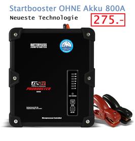 Startbooster OHNE Akku 800A
