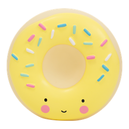 Tirelire donut jaune A little lovely company