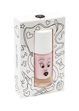 Vernis à ongle rose clair Bella Nailmatic kids