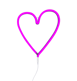 Lampe neon coeur rose A little lovely company