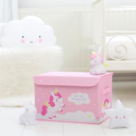 Coffre de rangement pour jouet Licorne A little lovely company