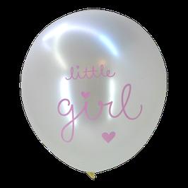 "Pack de 6 ballons ""Little girl"" A little Lovely Company"