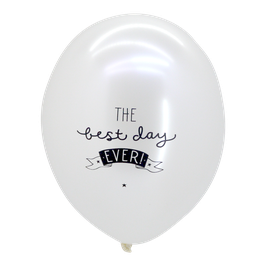 "Pack de ballons ""best day ever"" A little Lovely Company"