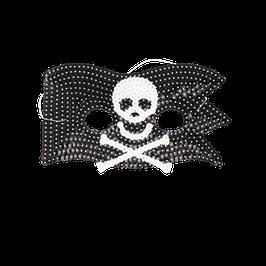 Masque drapeau pirate en paillettes marque Rice