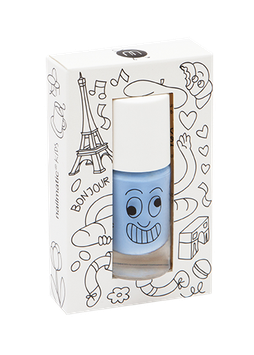 Vernis à ongle bleu Gaston Nailmatic kids