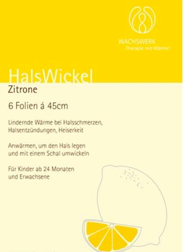 HalsWickel Zitrone