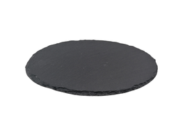 Schieferplatte oval