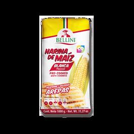 Harina de Maiz Blanco 1 kg Bellini